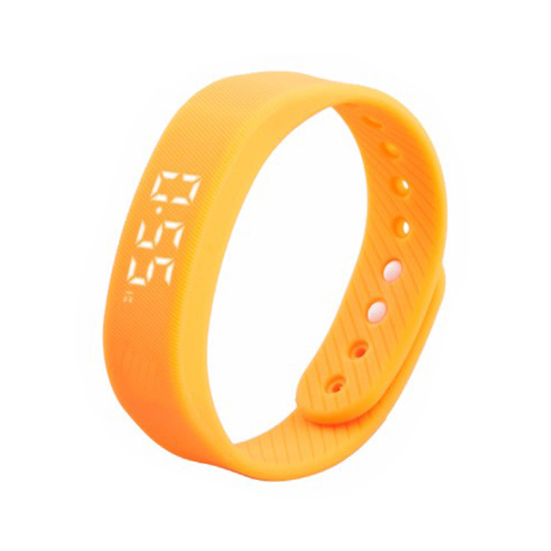 JRGK T5 LED Time Date Display Smart Band Sport Pedometer Fitness Bracelet Wristband Calories Distance Monitor