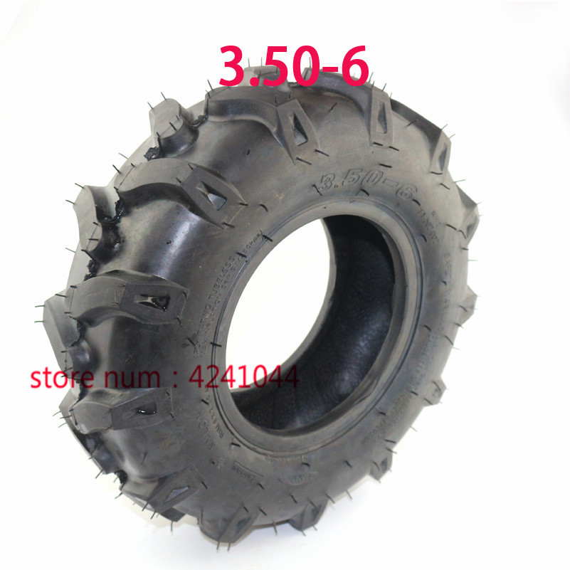 3 50-6 tire Tractor Tyre Wheel For ATV Quad Lawn Mower Garden Tractor  rotary cultivator 3 50-6 5 thickening vacuum tyre