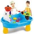 Mesa de Areia e Água Do Navio de Pirata Corsair Partido Das Crianças Dos Miúdos Ao Ar Livre Brinquedos de Praia Set