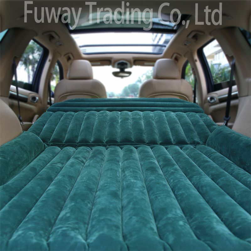DHL Free Shipping!!!Universal Car Travel Inflatable Mattress Car Inflatable Bed Air Bed Cushion Thickening Car Inflatable Bed durable thicken pvc car travel inflatable bed automotive air mattress camping mat with air pump