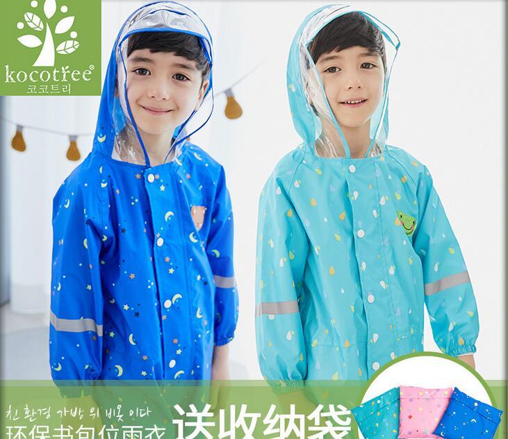9d6a7f2707e2 100% Original Top Quality 2017 Children s body Raincoats Boys and ...