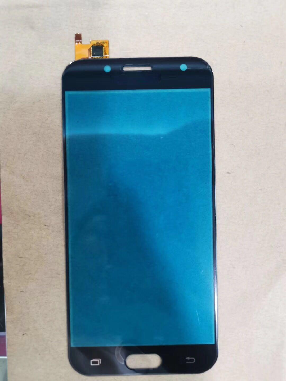 1 шт., высококачественные черные и золотые передние стеклянные линзы, сенсорный экран с дигитайзером для Samsung Galaxy J5 2017 J530 J530F SM-J530F