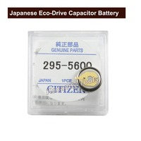 Japanese CT 295.56 Eco Drive Capacitor Battery MT920 Factory Sealed Genuine Part No. 295 5600 Watch Battery Accumulator