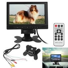 800X480 7 Zoll Drehbarer Bildschirm Pixel TFT LCD Digital Panel Farbe Rückfahrkamera Monitor mit 2 Video-eingang Unterstützung USB