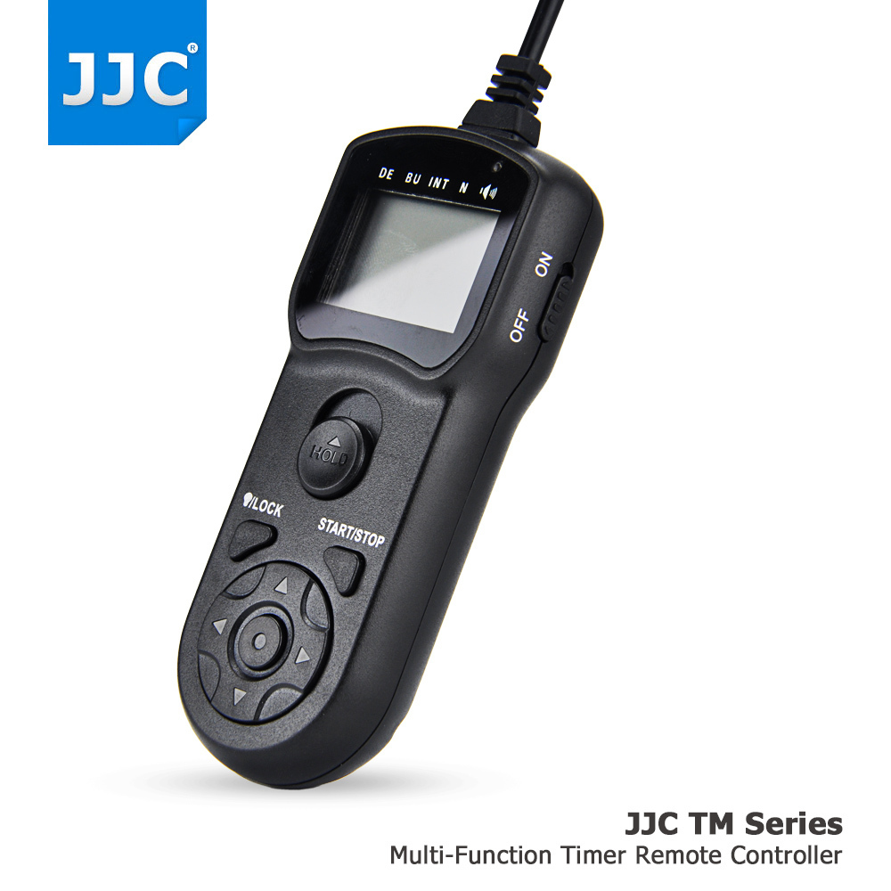 JJC Camera Wired Timer Remote Control Shutter Release Cord for Sony A7III/A6500/A6300/A6000/A7R II/RX100IV/HX90/HX90V/RX1R II wired camera remote control shutter release for iphone 4s 4 5 black white 3 5mm jack
