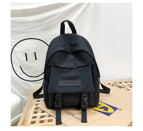 HTB1NgiVXrj1gK0jSZFuq6ArHpXaV 2019 Backpack Women Backpack Fashion Women Shoulder Bag solid color School Bag For Teenage Girl Children Backpacks Travel Bag