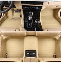 2017 Nuevo y El Envío libre! personalizar esteras especiales del piso del coche para Mercedes Benz ML Clase W166 2016-2012 ajuste perfecto salón de alfombras