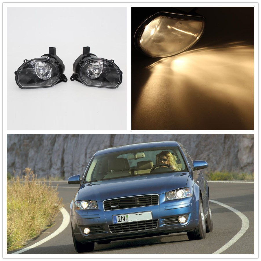 For Audi A3 2003 2004 2005 2006 2007 2008 Car-styling Front Halogen Bumper Fog Lamp Fog Light for audi a3 2003 2004 2005 2006 2007 2008 car styling front halogen bumper fog lamp fog light left driver side