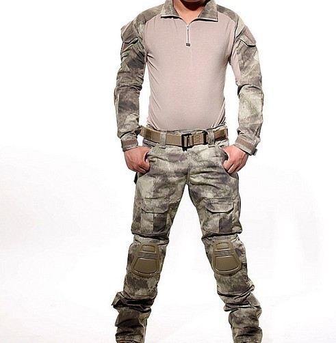 A TACS Tactical Combat Uniform Gen3 shirt + pants Military Army Pants with knee pads Size XS-XXL ACU MULTICAM WOODLAND DIGI  a tacs fg military uniform combat a tacs uniform bdu military uniform for hunting wargame coat pants