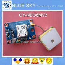 Бесплатная доставка! GY-NEO6MV2 новый модуль GPS NEO6MV2 НЕО-6M с Управления Полетом EEPROM MWC APM2.5 большой антенны