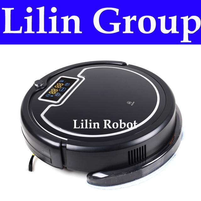 """(России Склад) liectroux B2005PLUS робот-пылесос, с водяным баком, Wet & Dry, сенсорный экран, withtone, по расписанию, виртуальная"""""""