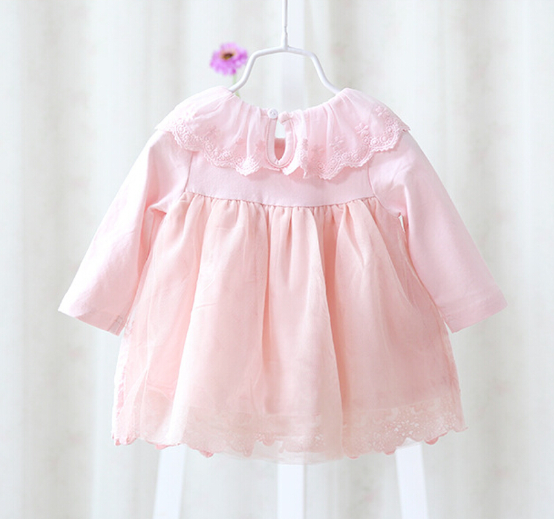 2017-new-girl-dress-European-style-baby-dress-baby-girls-clothes-cotton-baby-girl-christening-gowns-pink-1