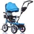 2016 Nueva Ultra Light Niños Cochecito De tres Ruedas Cochecito de Bebé coche Carro Chico Buggy Cochecito de niño de Alta calidad aptos para 6-60 meses