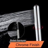 Chrome Messing Bidet Dusche Kopf Tragbare Bidet Sprayer Tragbare Toilette Spray Anus Anal Reinigung Dusche Gesundheit Hygienische Dusche