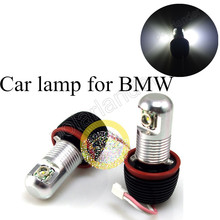 car lamp  for BMW E82/E87 E90 sedan E91 touring E92  2*10W CREE Angel Eyes LED Marker