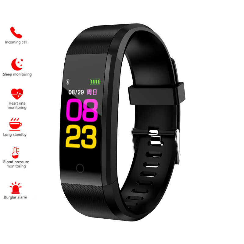 Smart Watch Men Women's Watch Brand SANDA Blood Pressure Heart Rate Tracker Waterproof Wristwatches Smartwatch For IOS Android