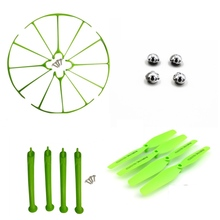font b Rc b font Drone Accessory Propeller Landing Gear Propellers Protection Frame For Syma