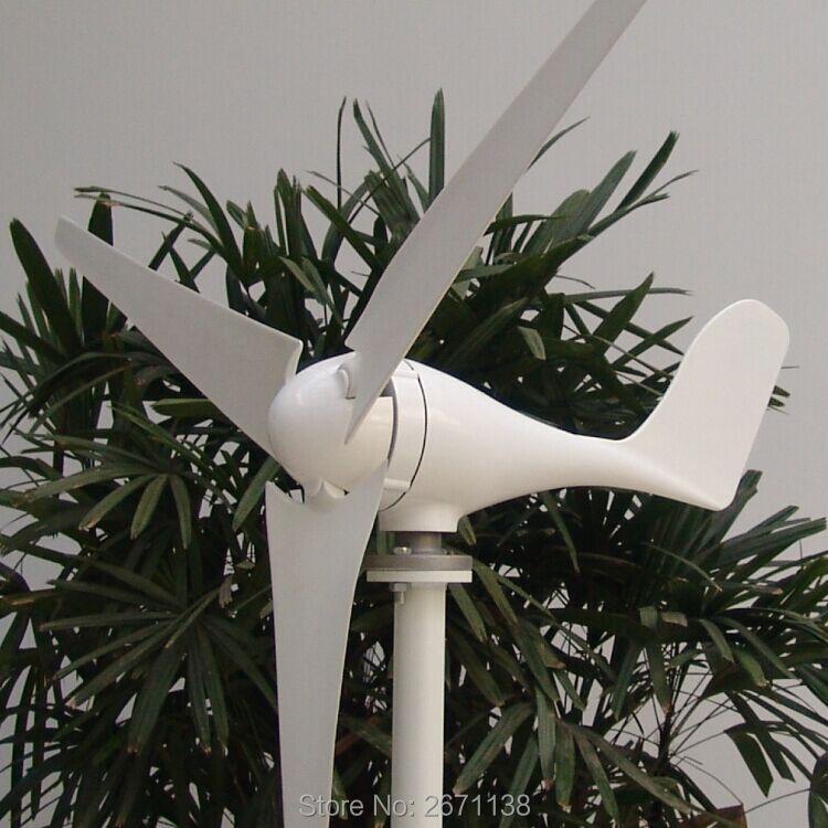 200W Wind Turbine Generator 12V or 24V  3 or 5 blade 600mm, with charge controller вентилятор для корпуса deepcool wind blade 80 wind blade 80