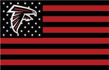 Atlanta Falcons НФЛ Флаг горячее надувательство товаров 3X5FT 150X90 СМ 100D Полиэстер, бесплатная доставка