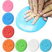 Сушка Handprint след Imprimt малыш литья DIY инструмента мягкий пластилин игрушка родитель-ребенок рука отпечатков пальцев Сувениры игрушка