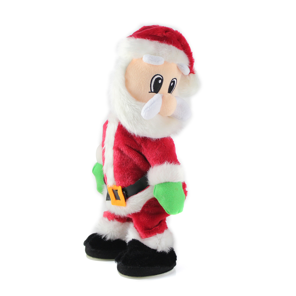 950ff032bf8a4 Electric Dancing Christmas Santa Claus Musical Toy Doll Xmas New Years Kids  Children Gifts Christmas Decoration