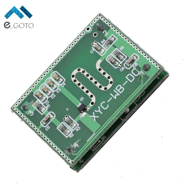 5.8 ГГц Микроволновая печь Радар Сенсор модуль smart Сенсор ing переключатель 6-9 м дома Управление 5.8 Г
