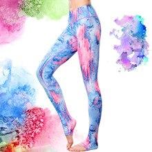 High Grade 3D Print Yoga Pants Running Sport Tights Women Yoga Leggings Fitness Push Up Fitness Elastic Shop Online Store