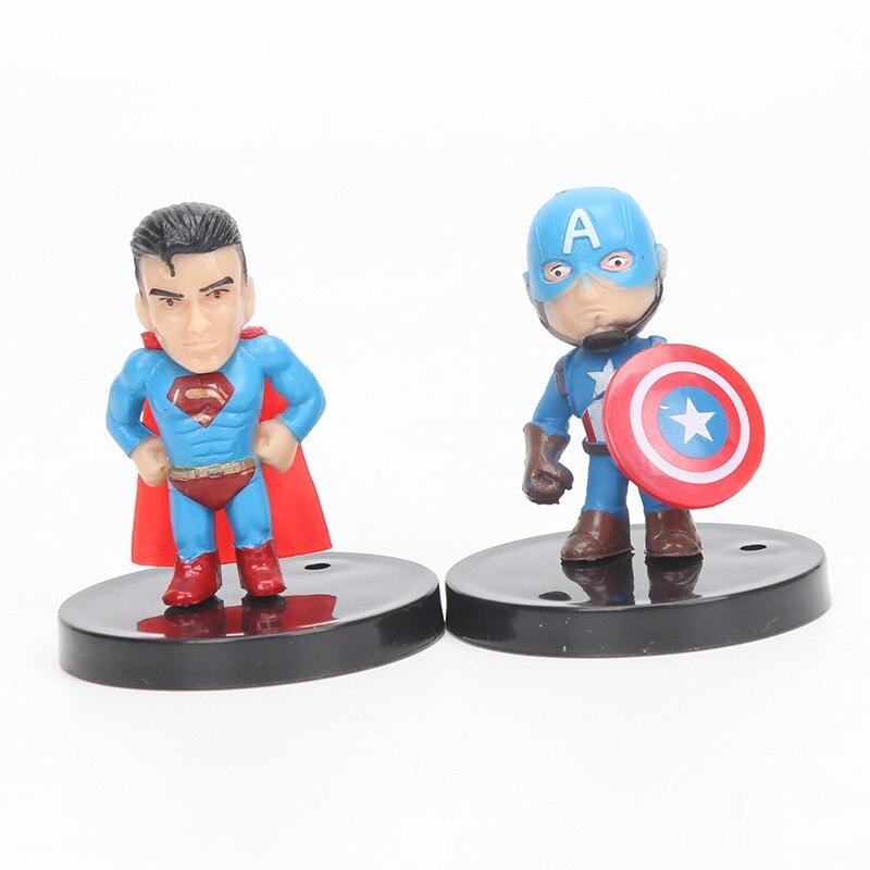4-5 սմ 12 հատ / սահմանել Marvel Toys The Avengers Figure - Խաղային արձանիկներ - Լուսանկար 4