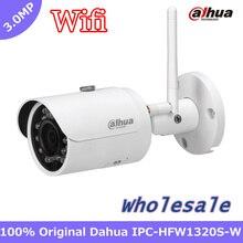 Eksport english version ipc-hfw1320s-w 3mp dahua ir30m ip67 wbudowane wifi gniazdo kart sd sieć zewnętrzna bullet kamery ip wifi