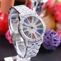 New LGXIGE StainlessSteel Top brand luxury rose gold watch Geneva Clock Diamond quartz watch ladies wrist watch relogio feminino