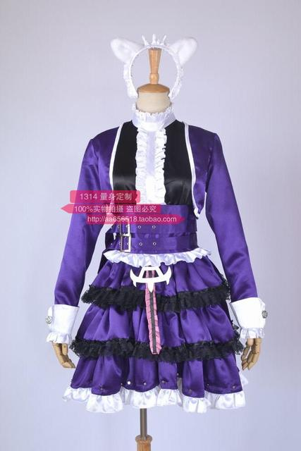 2016 Hot Sale LOL Cosplay Costume LOL The Dark Child Annie Cosplay Annie Dress Custom-made Halloween Costume Any Size