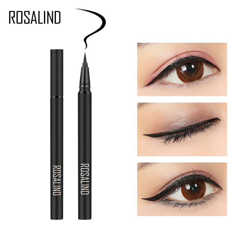 ROSALIND Eyeliner New 1PCS Long-Lasting Eyeline Waterproof Eye Pencil Cosmetic Makeup Women Liner Eyeliner Professional Makeup