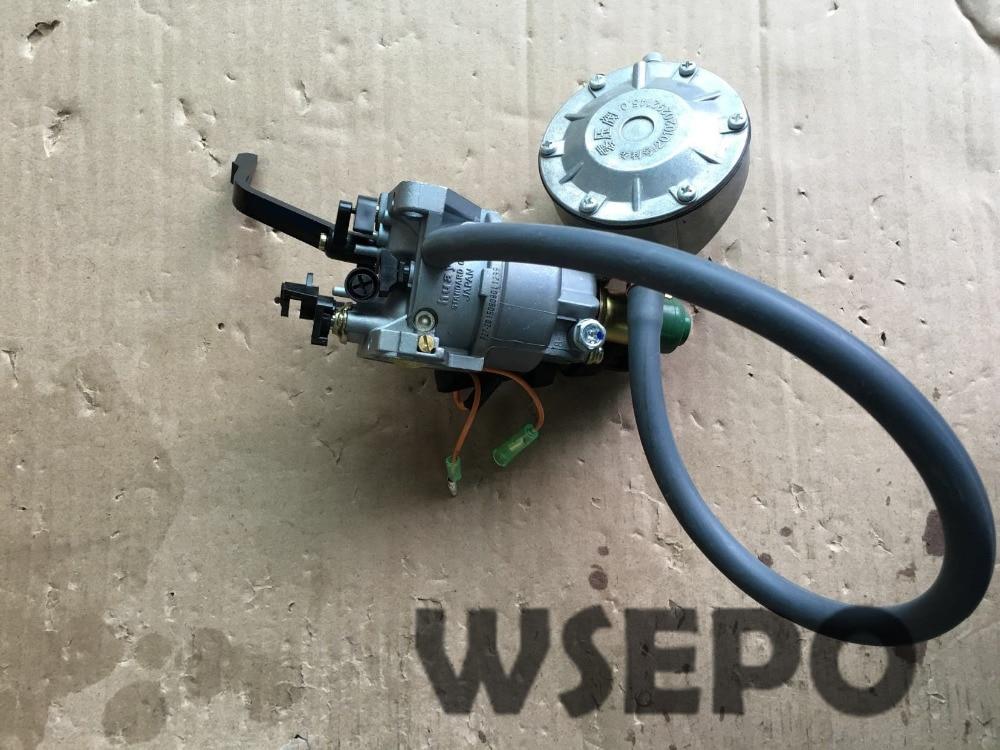 Chongqing Quality! LPG Conversion Carburetor fits 188F/190F/GX340/GX390/GX420/GX440/192F 5~8KW Gasoline Generator,Dual-Use Carb chongqing quality 100% copper winding rotor