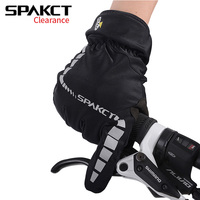 New SPAKCT Bike Bicycle Long Finger Full Finger Cycling Riding Racing Gloves Skeleton S M L