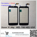Original preto touch screen glass digitador touchscreen para huawei honor 3c play hol-u19 hol-t00 hol-u10 hol u19 frete grátis