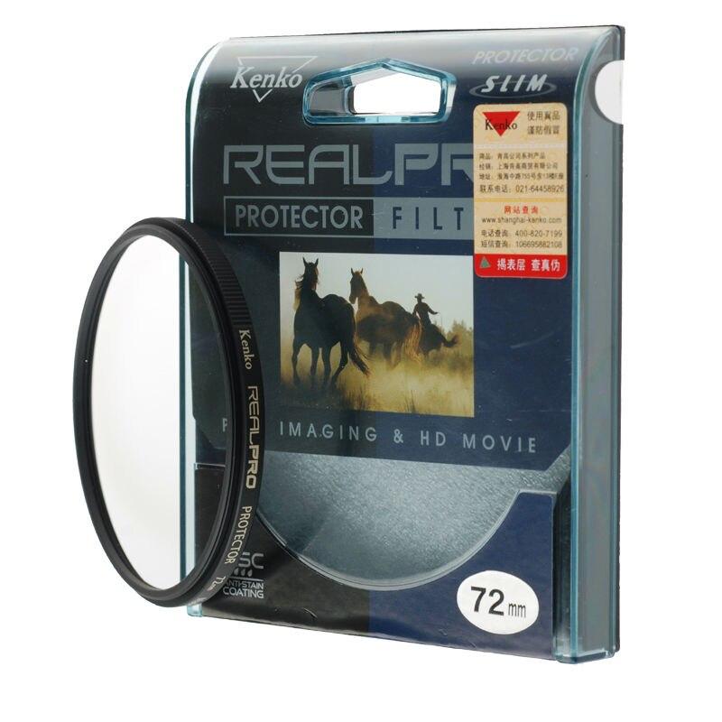 KENKO 77mm REALPRO schutzbrille Schlank Filter Objektiv Beschützer Für Canon Nikon 24-105...