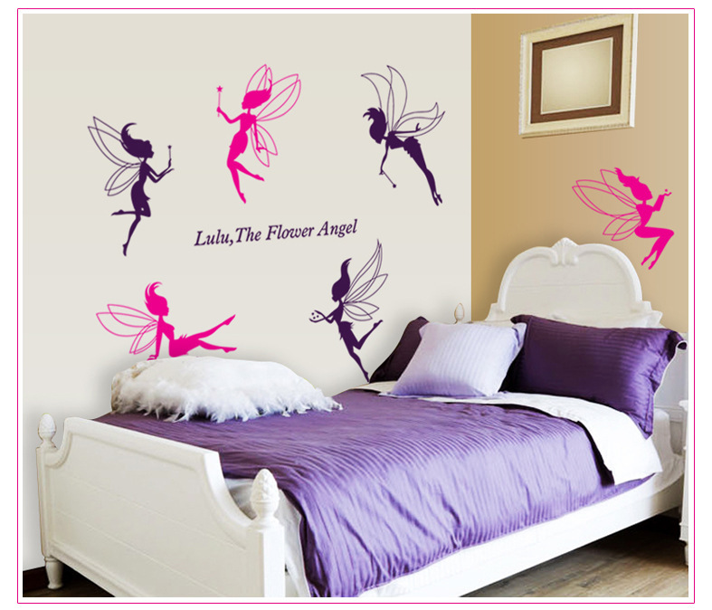 Decorate elf art wall sticker decoration Decals mural painting Removable Decor Wallpaper LF 1774 in Wall Stickers from Home Garden