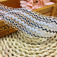 10 Yards/15 Yards 5cm Width Lace Elastic Band Garment Sewing Accessories Polyester Stretch Trim DIY High Quality