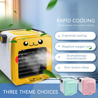 USB Charging Portable Multifunction Cool down air Fan Home Refrigerator Cooler Cold box perfume aromatherapy machine W0612