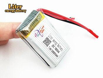 10pcs/lot 7.4V 1000mAh 703048 25c lipo battery For  V912 V262 V353 BQ202 UDI U829X aircraft model aircraft batteries lipo 2s