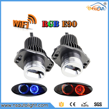 WIFI RGB Led Marker E90 LCI 24W LED Angel Eye Error Free for BMW E90 E91