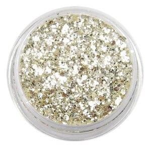 Image 3 - PURE 100% BEST SILVER SHINING UV Glitter Powder Dust Sheet Nail Art Decorations Small Fine Glitter ,5G Jar,YTKL02265221148712212