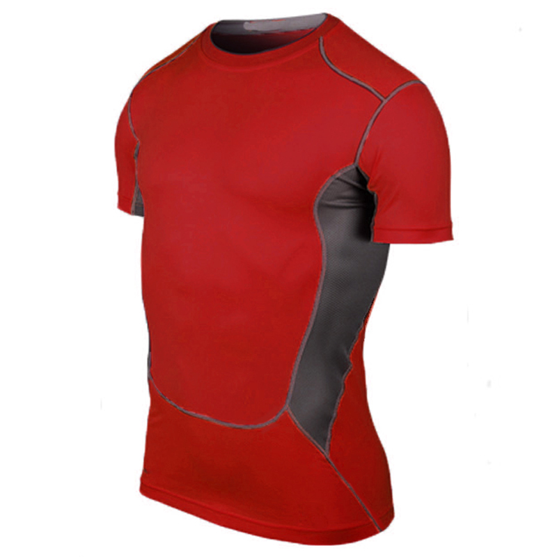 Yd Hot Logo Custom Man's T-shirt Sneldrogend Strakke Fitness top - Sportkleding en accessoires - Foto 2