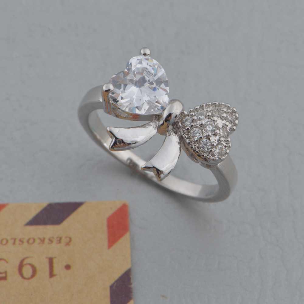 4d00aefb81 ... New Couple 925 Ring Vashiria Fashion Nice Plated Gold Jewelry 925 CZ  Nice Wedding Ring J612