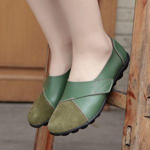 Image 5 - Dobeyping 新春秋の靴本革の女性に女性のローファー女性縫製靴大サイズ 35 44