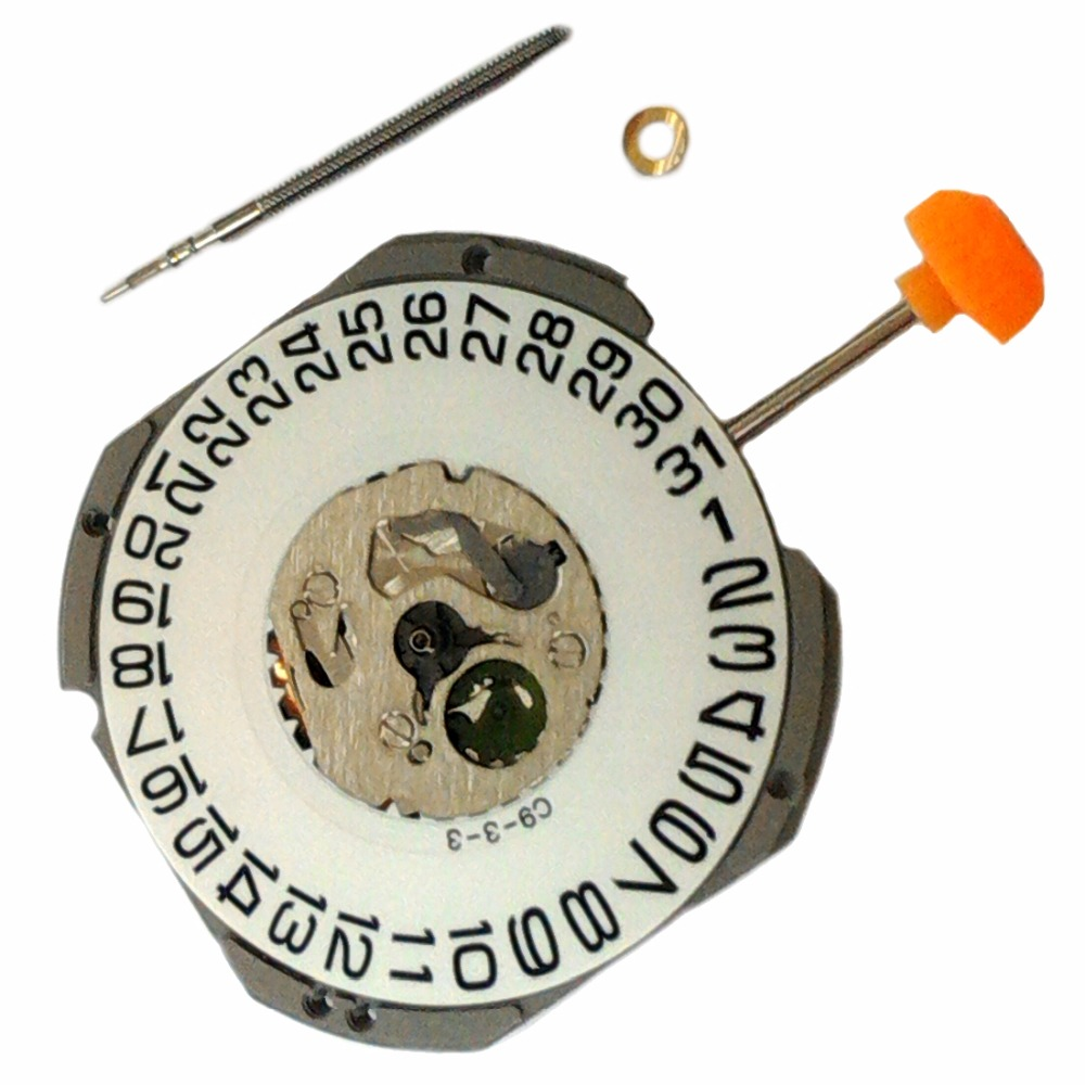 MIYOTA 1S13 Genuine Quartz Watch Movement High Cann. Flat Range Battery Included