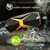IPX7 Outdoor Waterproof Wireless Bluetooth Speaker Portable Outdoor Repellent Speaker Stereo Loudspeaker Bass Subwoofer
