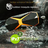 IPX7 Outdoor Waterproof Wireless Bluetooth Speaker Portable Outdoor Repellent Speaker Stereo Loudspeaker Bass Subwoofer