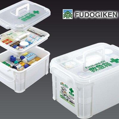 Portable fudogiken Grande boîte de médecine trousse de premiers soins boîte sans les médicaments