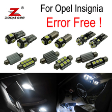12pcs Error free for Opel Insignia Sedan Saloon Estate Hatchback Sports LED bulb Interior Light Kit  (2008-2016)